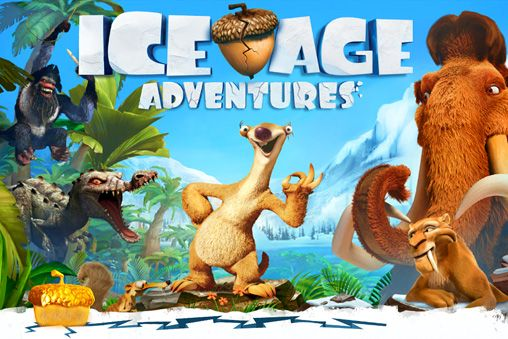 Download Ice age: Adventures iPhone free game.