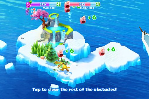Screenshots of the Ice age: Adventures game for iPhone, iPad or iPod.