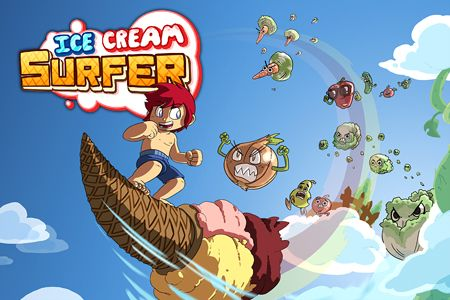 Download Ice cream surfer iPhone free game.