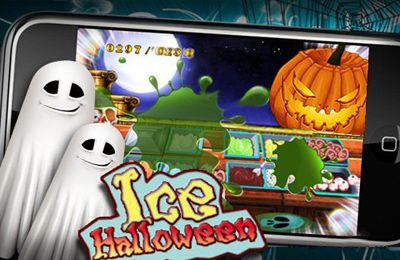 Screenshots of the Ice Halloween game for iPhone, iPad or iPod.