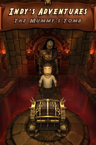 Download Indy's adventures: The mummy's tomb iPhone free game.