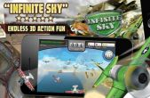 In addition to the game Plants vs. Zombies for iPhone, iPad or iPod, you can also download Infinite Sky for free