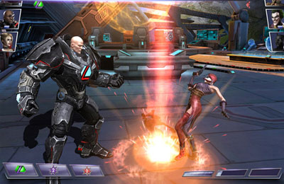 Screenshots of the Injustice: Gods Among Us game for iPhone, iPad or iPod.