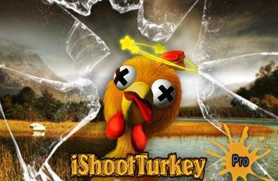 Screenshots of the iShootTurkey Pro game for iPhone, iPad or iPod.