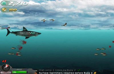 Screenshots of the Jaws Revenge game for iPhone, iPad or iPod.