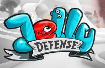 Screenshots of the Jelly Defense game for iPhone, iPad or iPod.