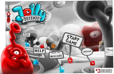 Jelly Defense - iPhone game screenshots. Gameplay Jelly Defense.