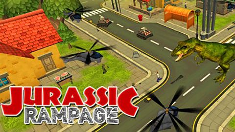 Download Jurassic rampage iPhone free game.