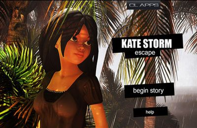 Screenshots of the Kate Storm: Escape game for iPhone, iPad or iPod.