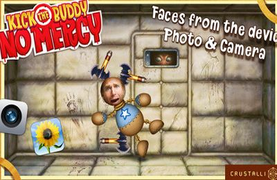 Screenshots of the Kick the Buddy: No Mercy game for iPhone, iPad or iPod.