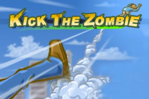 Download Kick the zombie iPhone free game.