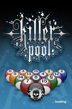 Screenshots of the Killer Pool game for iPhone, iPad or iPod.