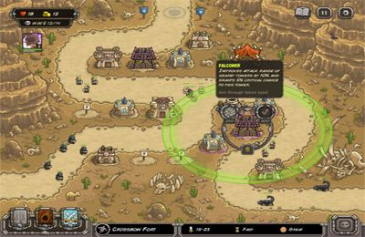 Screenshots of the Kingdom Rush Frontiers game for iPhone, iPad or iPod.