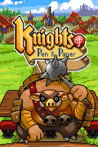 Download Knights of pen & paper iPhone free game.