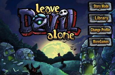 Screenshots of the Leave Devil alone game for iPhone, iPad or iPod.