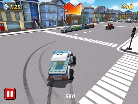 Screenshots of the Lego city: My city game for iPhone, iPad or iPod.