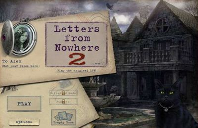 Download Letters from Nowhere 2 iPhone free game.