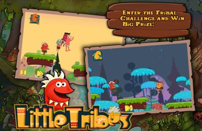 Screenshots of the Little Tribes game for iPhone, iPad or iPod.