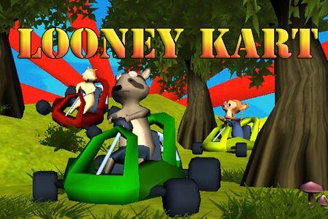 Download Looney kart iPhone free game.
