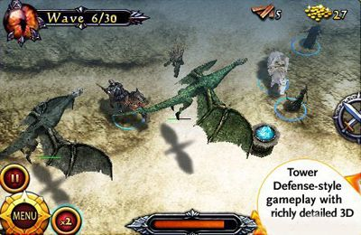 Screenshots of the Lord of the Rings Middle-Earth Defense game for iPhone, iPad or iPod.