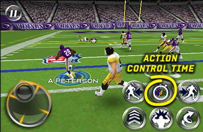 Screenshots of the MADDEN NFL 10 by EA SPORTS game for iPhone, iPad or iPod.