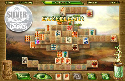 Screenshots of the Mahjong Artifacts: Chapter 2 game for iPhone, iPad or iPod.