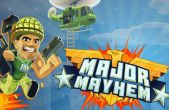 In addition to the game Candy Crush Saga for iPhone, iPad or iPod, you can also download Major Mayhem for free