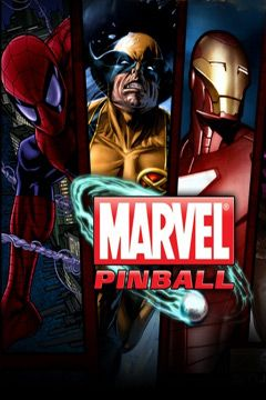 Screenshots of the Marvel Pinball game for iPhone, iPad or iPod.