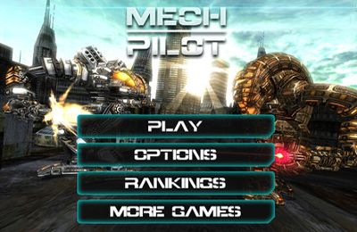 Screenshots of the Mech Pilot game for iPhone, iPad or iPod.