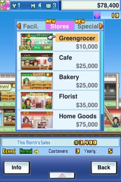 Screenshots of the Mega Mall Story game for iPhone, iPad or iPod.