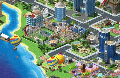 Megapolis - iPhone game screenshots. Gameplay Megapolis.