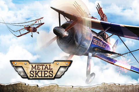 Download Metal skies iPhone free game.
