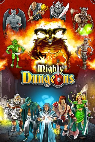 Download Mighty dungeons iPhone free game.