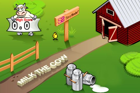 Download Milk the cow iPhone free game.