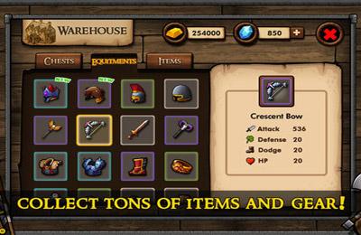 Screenshots of the Mini Warriors game for iPhone, iPad or iPod.