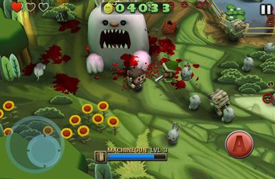 Screenshots of the Minigore 2: Zombies game for iPhone, iPad or iPod.