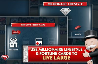 MONOPOLY Millionaire - iPhone game screenshots. Gameplay MONOPOLY