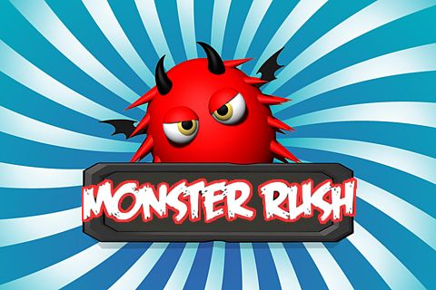 Download Monster rush iPhone free game.