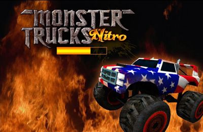 Screenshots of the Monster Trucks Nitro game for iPhone, iPad or iPod.
