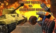 In addition to the game Flapcraft for iPhone, iPad or iPod, you can also download Monster Trucks vs. Army Night Smash for free