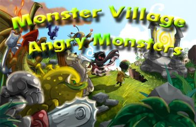 Screenshots of the Monster Village – Angry Monsters game for iPhone, iPad or iPod.