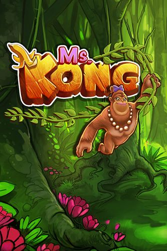 Download Ms. Kong iPhone free game.