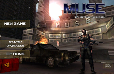 Screenshots of the M.U.S.E. game for iPhone, iPad or iPod.