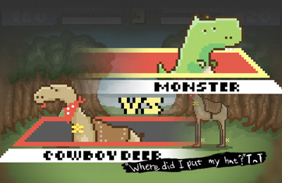 Screenshots of the My Little Monster game for iPhone, iPad or iPod.