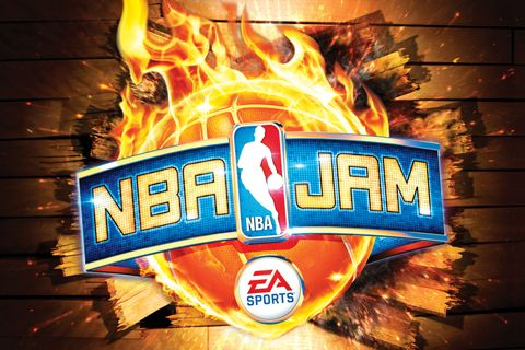 Screenshots of the NBA JAM game for iPhone, iPad or iPod.