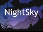 In addition to the game Gravity Guy for iPhone, iPad or iPod, you can also download Night sky for free