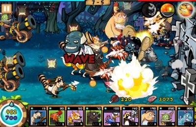 Screenshots of the Nine Heroes game for iPhone, iPad or iPod.