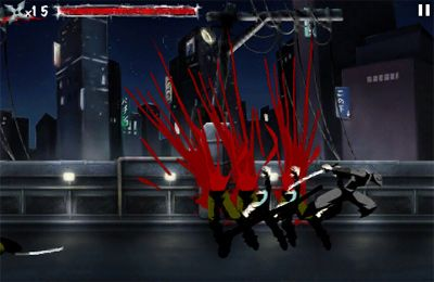 Screenshots of the Ninja Assassin game for iPhone, iPad or iPod.