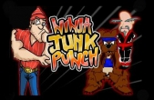In addition to the game Monster Truck Racing for iPhone, iPad or iPod, you can also download Ninja Junk Punch for free