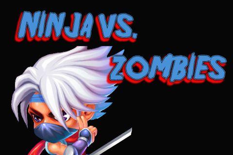 Download Ninja vs. zombies iPhone free game.